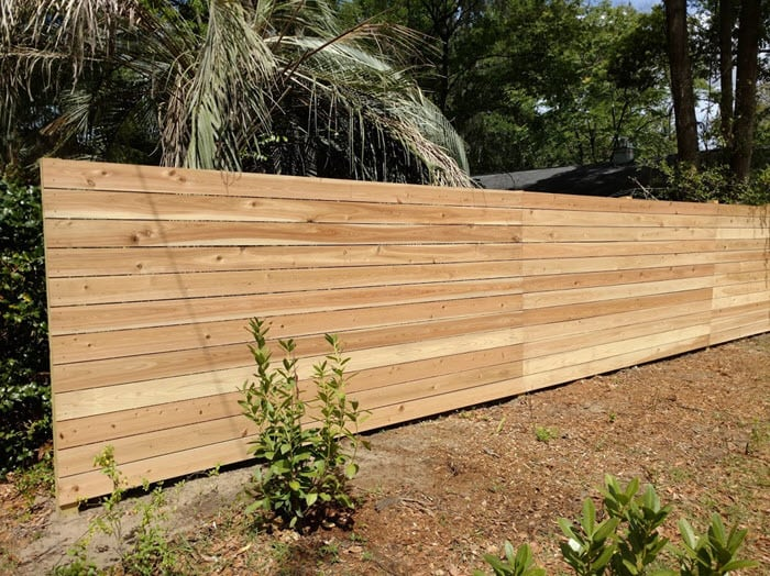 how much does wood fencing cost