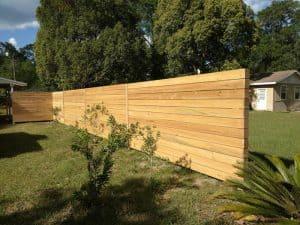 horizontal backyard privacy fence2