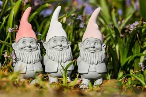 gnome statues