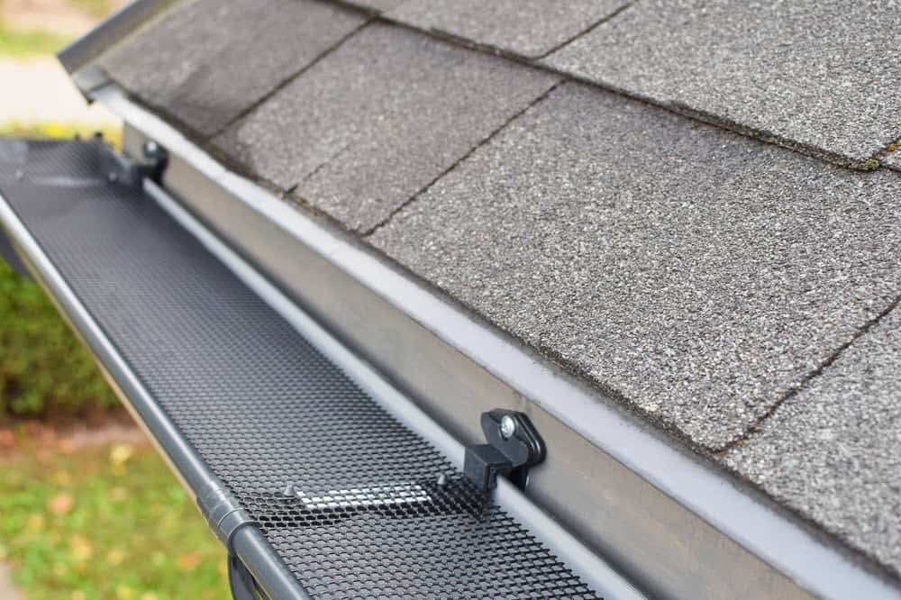 Flo-Free Gutter Guard 5 inch Best Leaf Protection Available 48ft per box