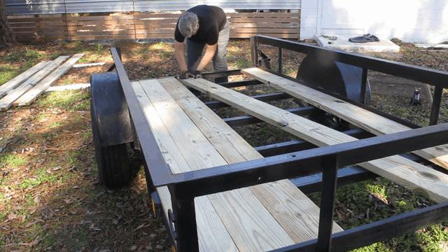 adding board at an angle