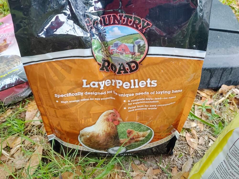 layer pellet for hens