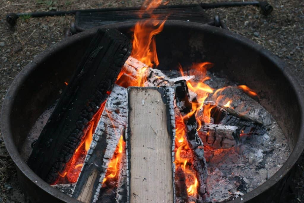 fire pit ring material