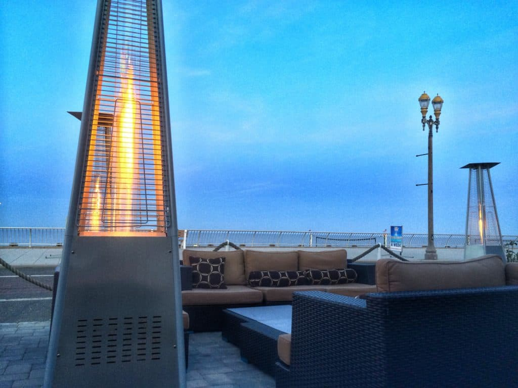patio heaters on back deck