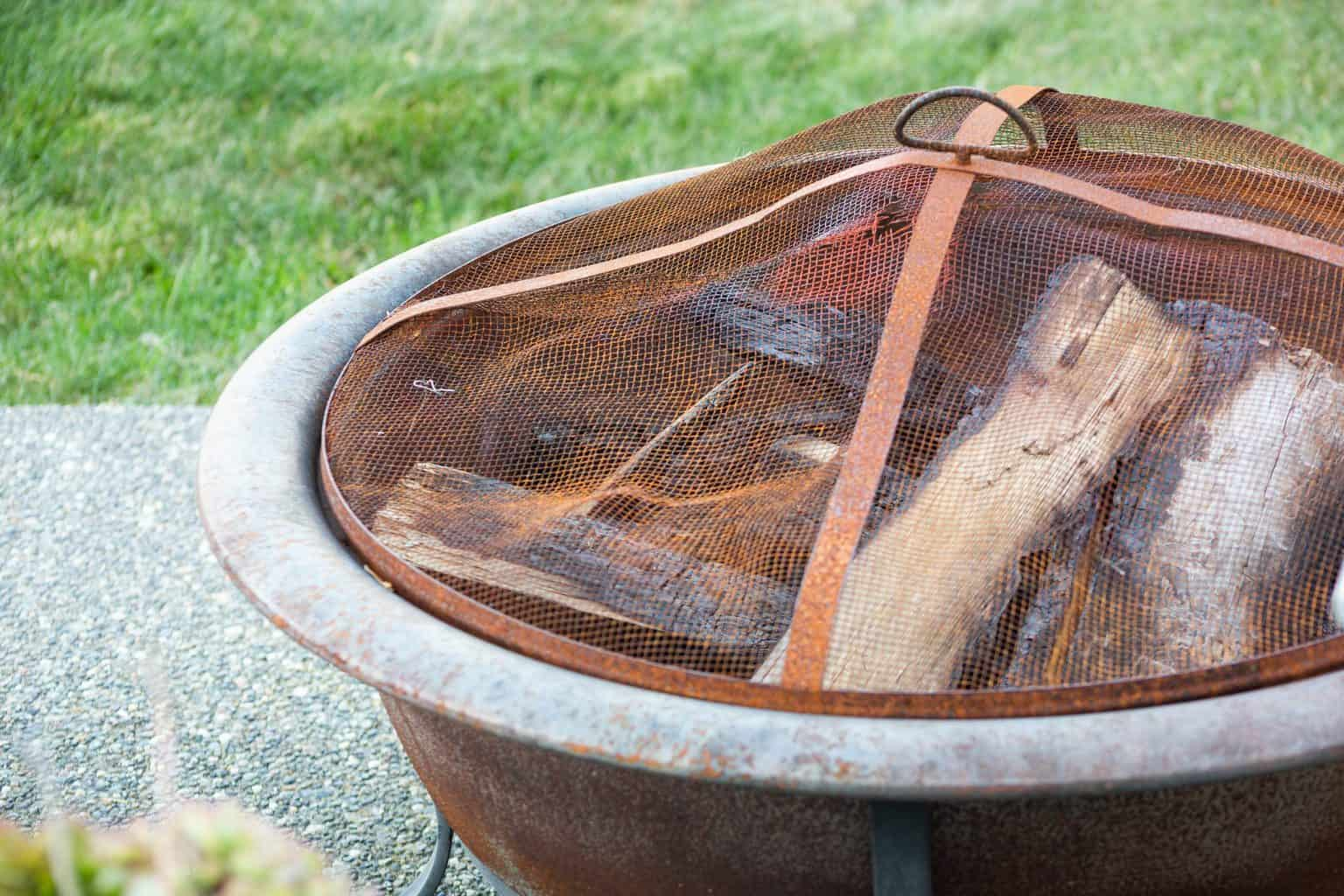 How To Remove Rust From An Outdoor Fire Pit Backyardscape