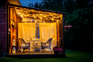 pergola light ideas