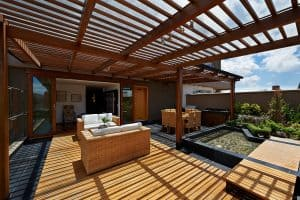 backyard pergola and what it's used for