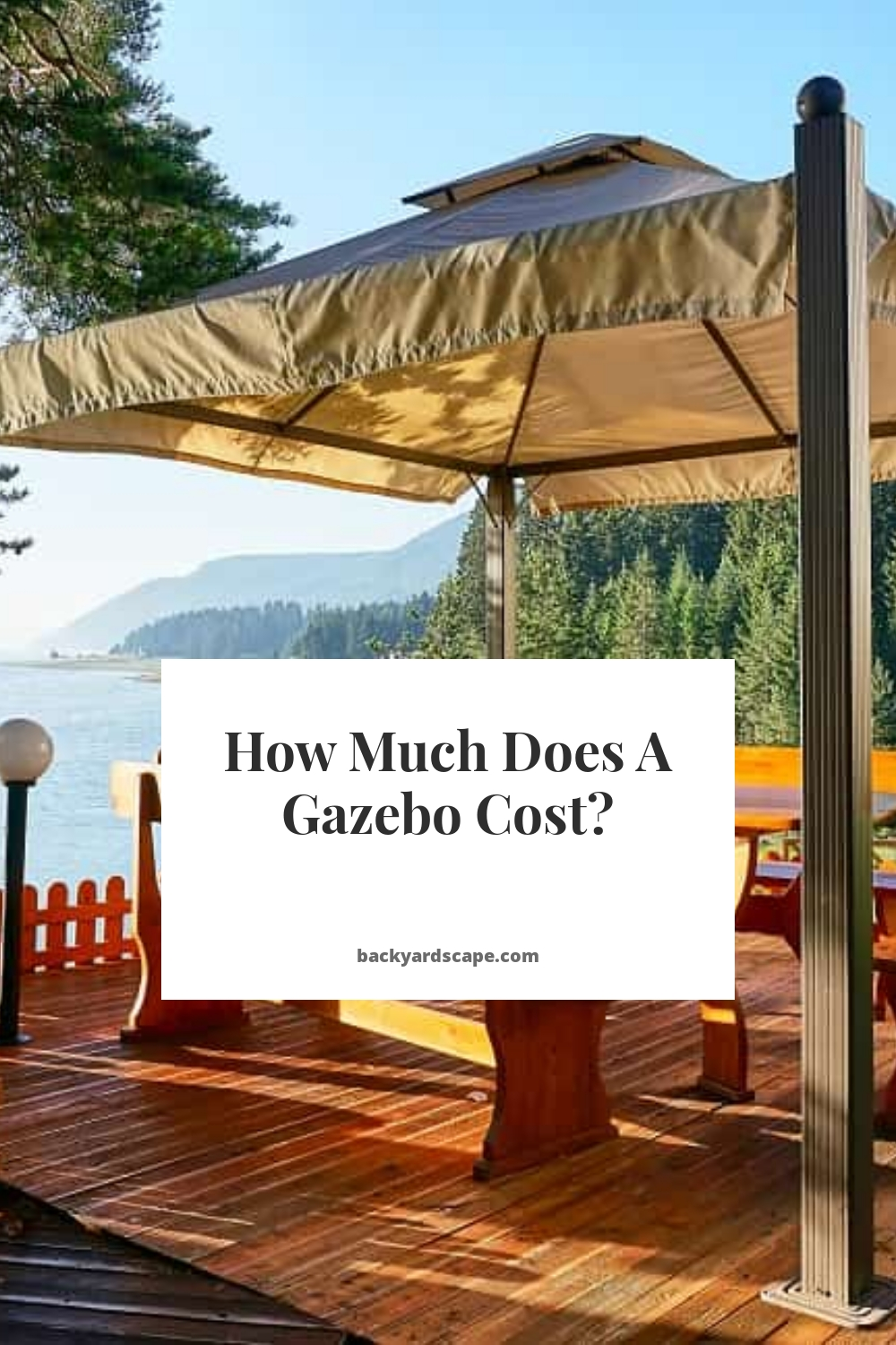 How Much Does A Gazebo Cost?