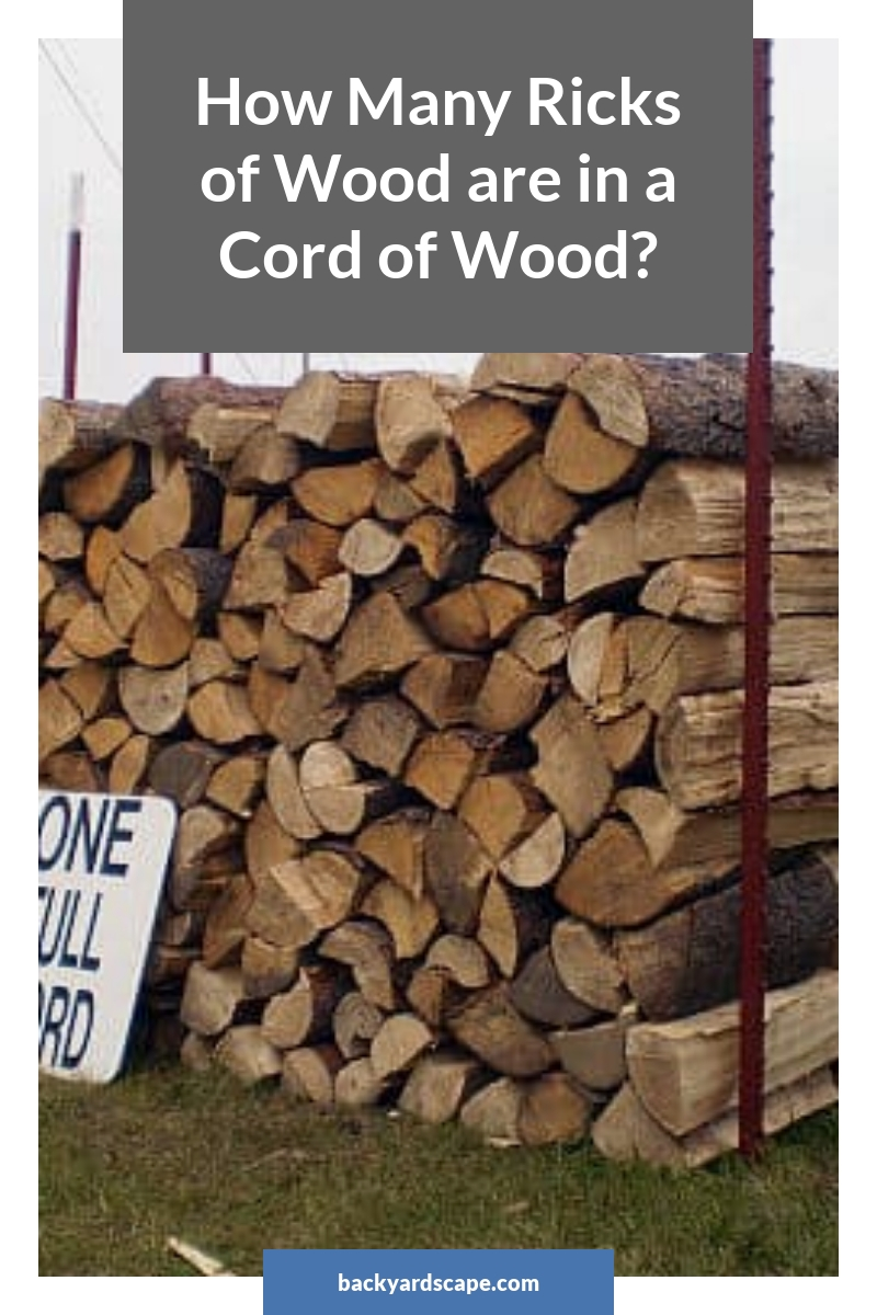 How Many Ricks of Wood are in a Cord of Wood?