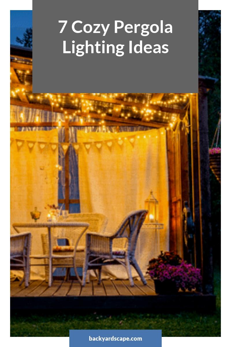 7 Cozy Pergola Lighting Ideas
