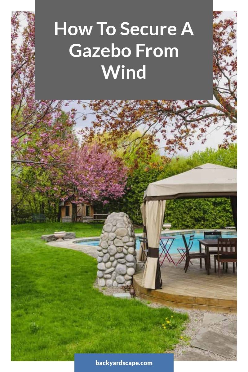 How To Secure A Gazebo From Wind