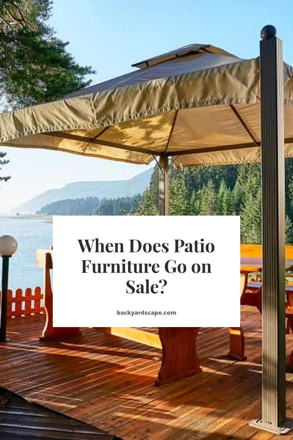 When Does Patio Furniture Go on Sale?