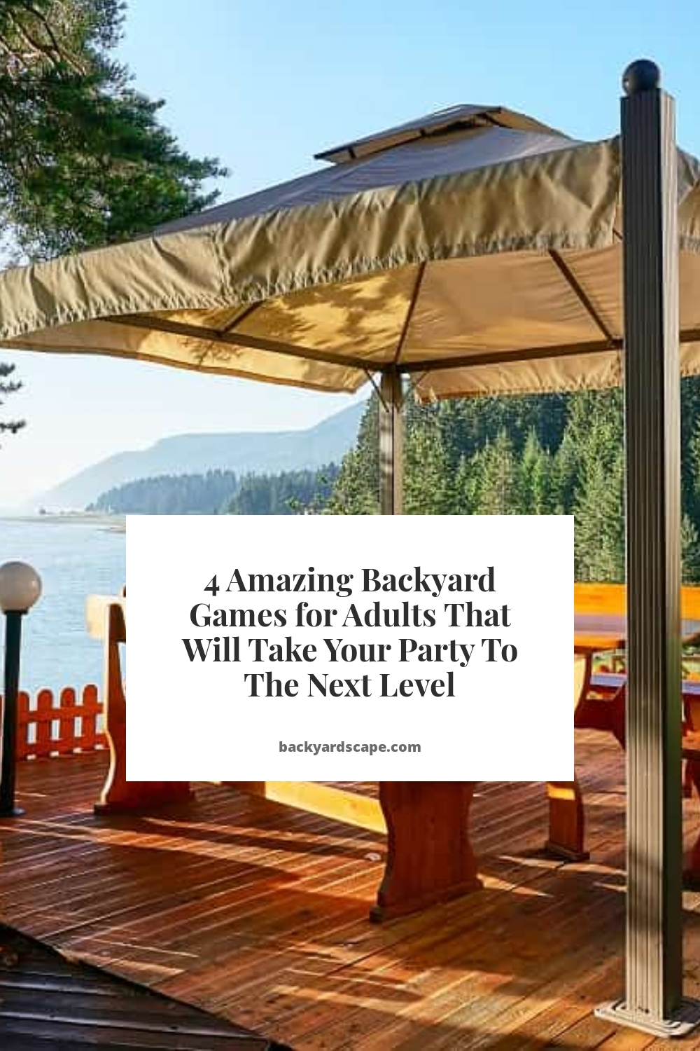4 Amazing Backyard Games for Adults That Will Take Your Party To The Next Level