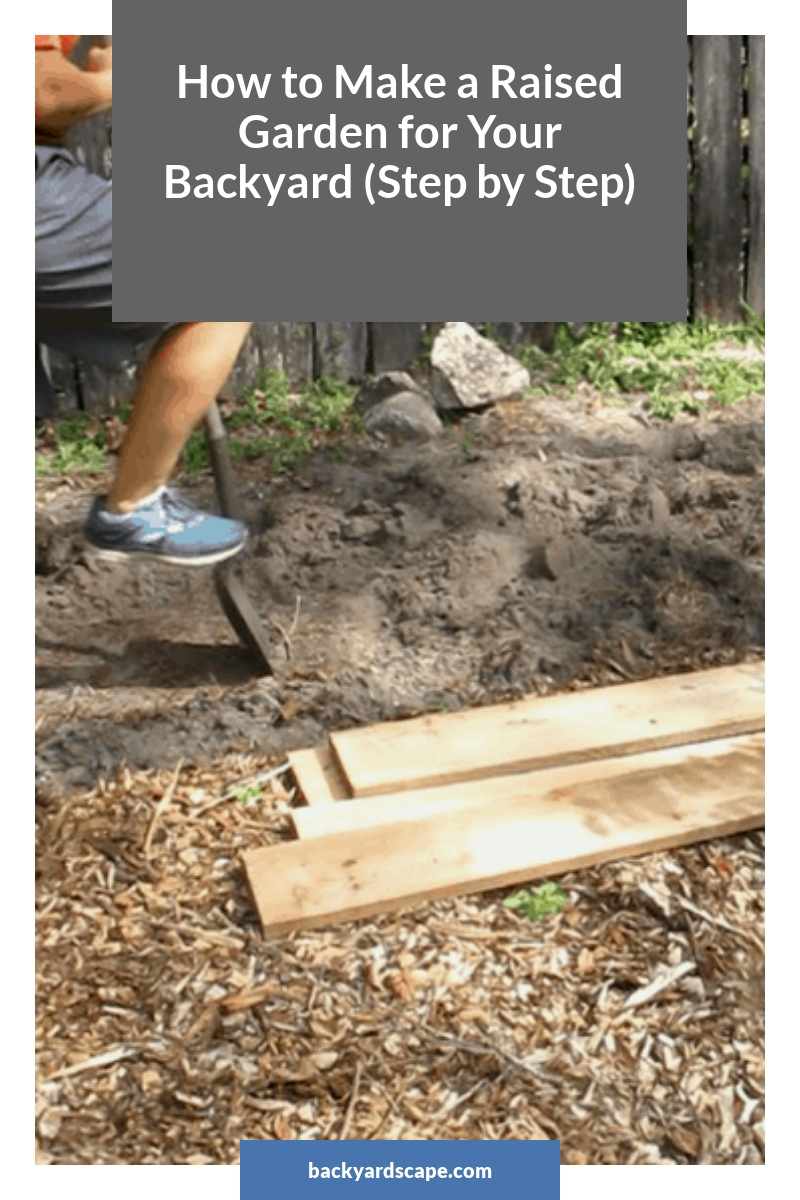 How to Make a Raised Garden for Your Backyard (Step by Step)