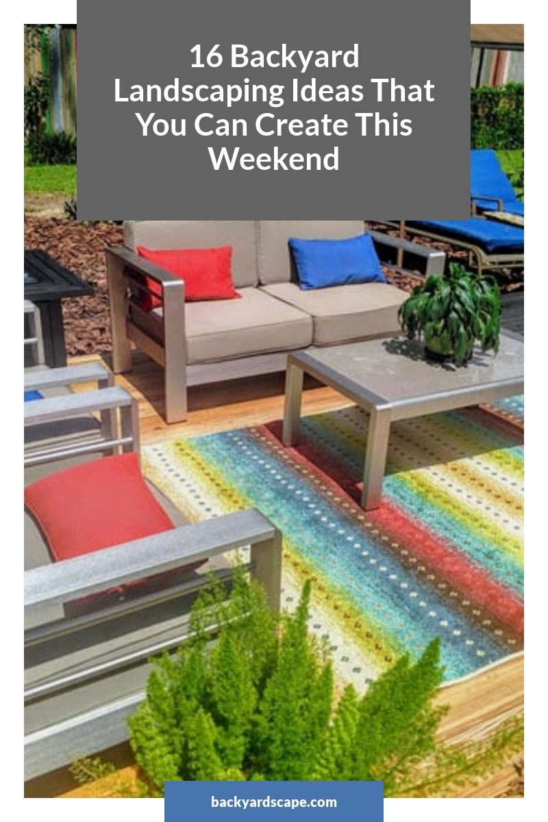 16 Backyard Landscaping Ideas That You Can Create This Weekend