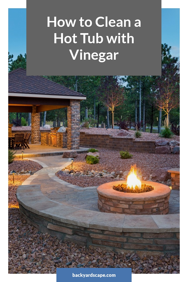 How to Clean a Hot Tub with Vinegar