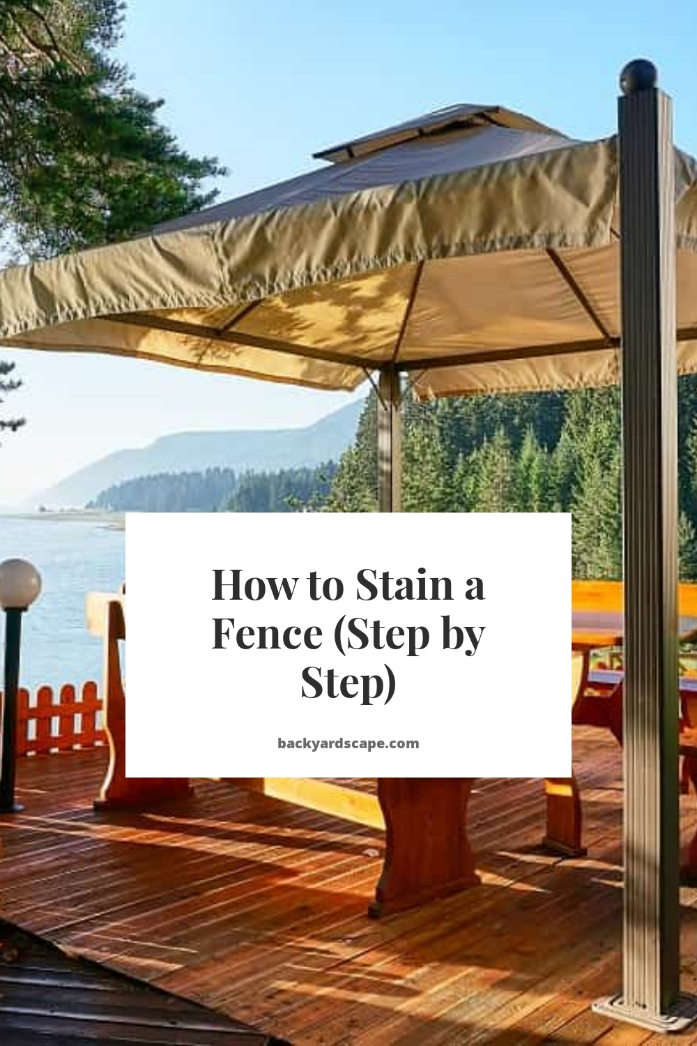 How to Stain a Fence (Step by Step)