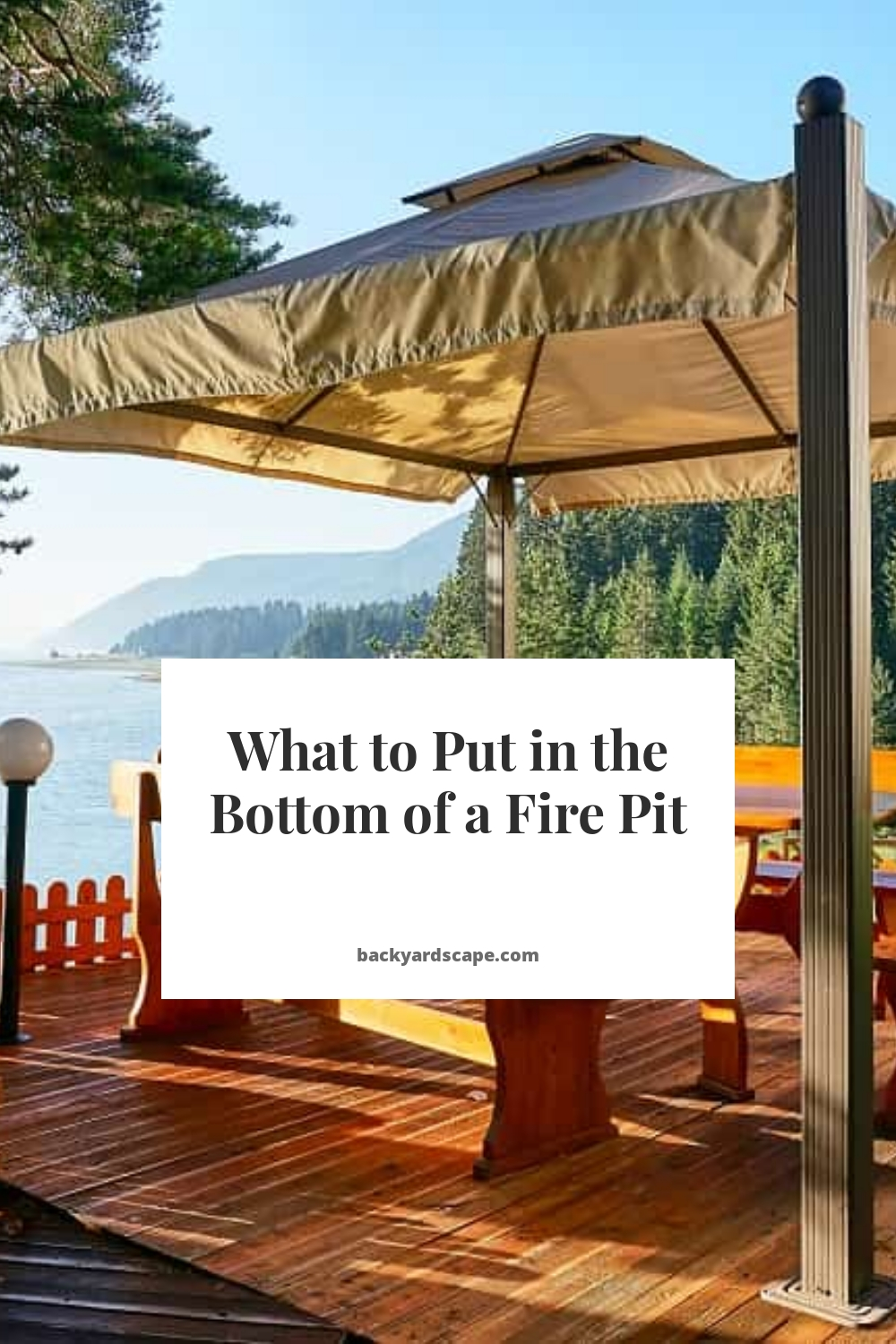 What to Put in the Bottom of a Fire Pit