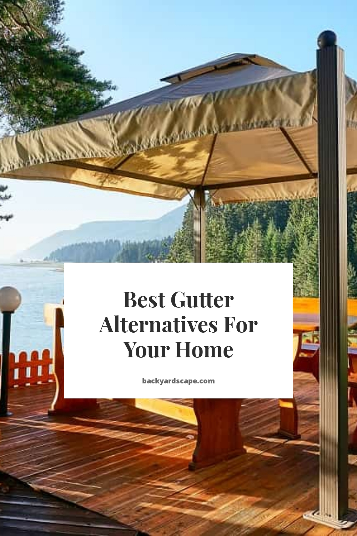 Best Gutter Alternatives For Your Home