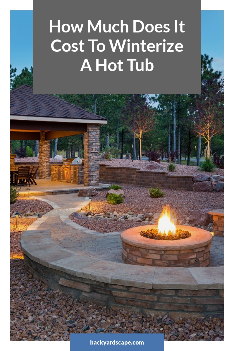 How Much Does It Cost To Winterize A Hot Tub