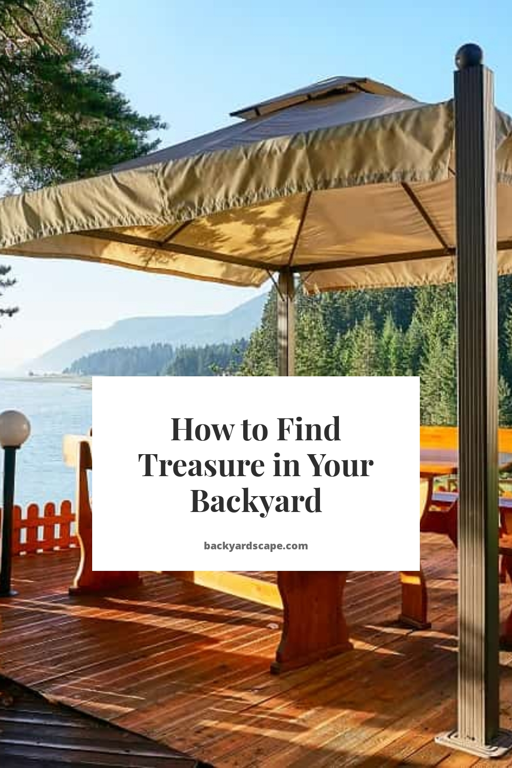 How to Find Treasure in Your Backyard